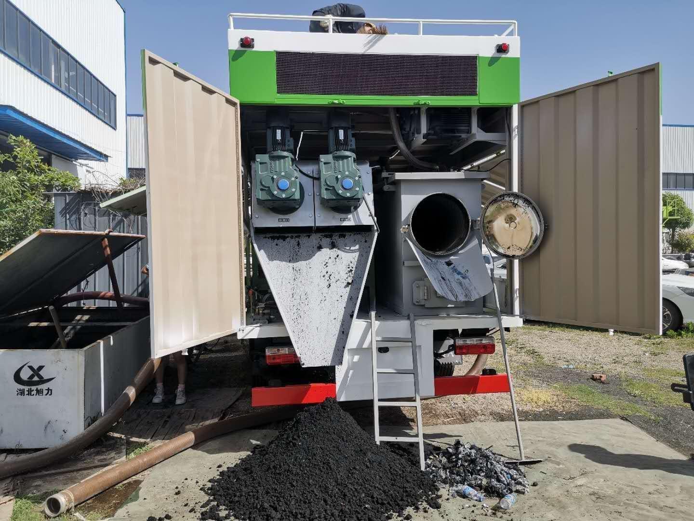 3308轴距吸污净化车污水处理车视频