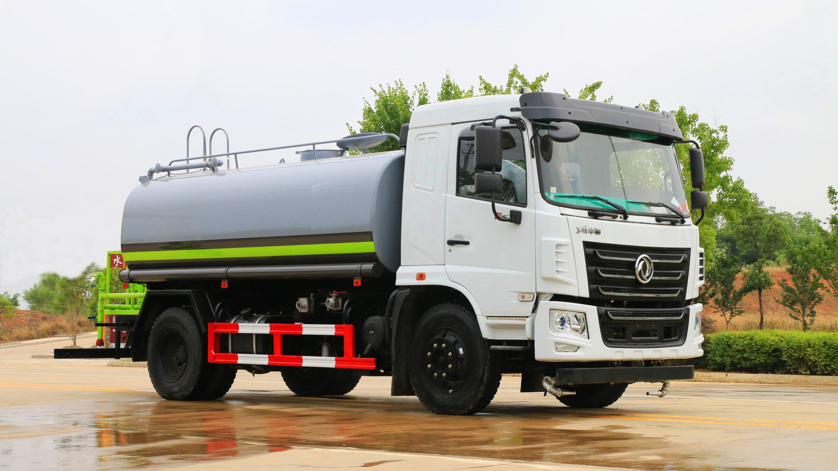 東風華神新款12噸灑水車