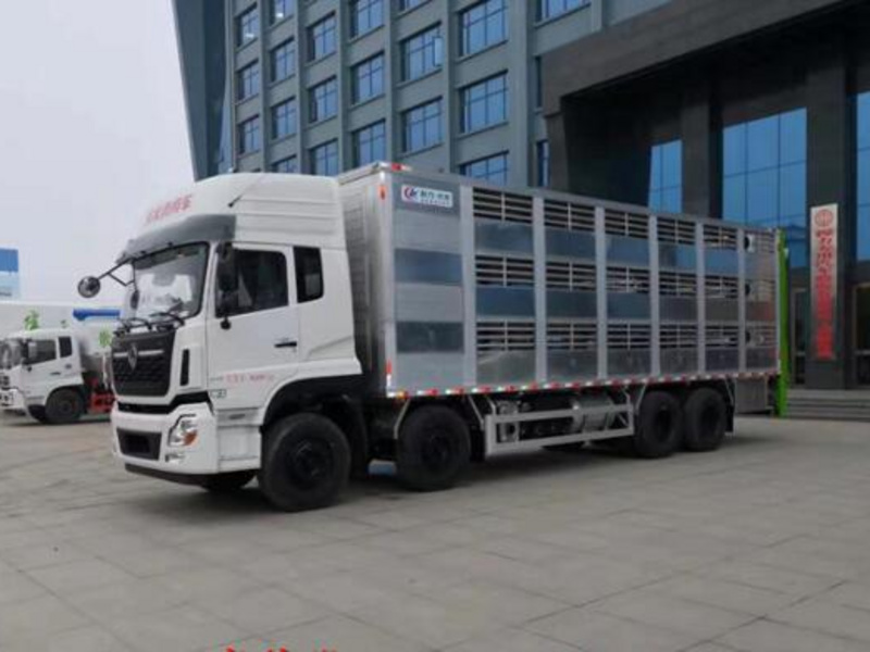 9米6拉豬車廠家 封閉式恒溫鋁合金拉豬車廠家直銷價格