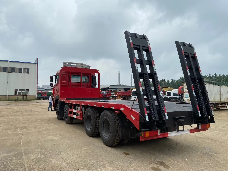 中國一拖集團-福德牌前四后八平板運輸車圖片