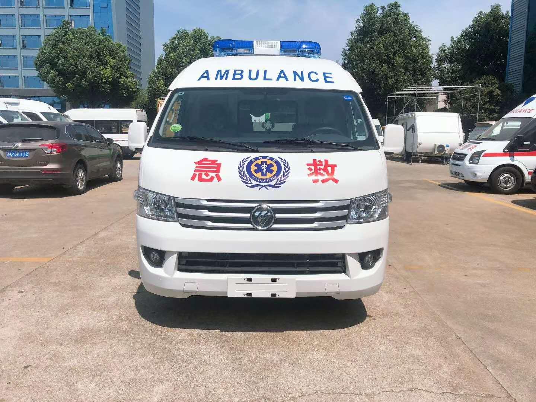 福田G9负压救护车,支援新疆图片