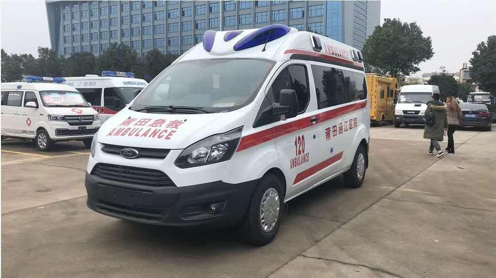 福田国六救护车图片