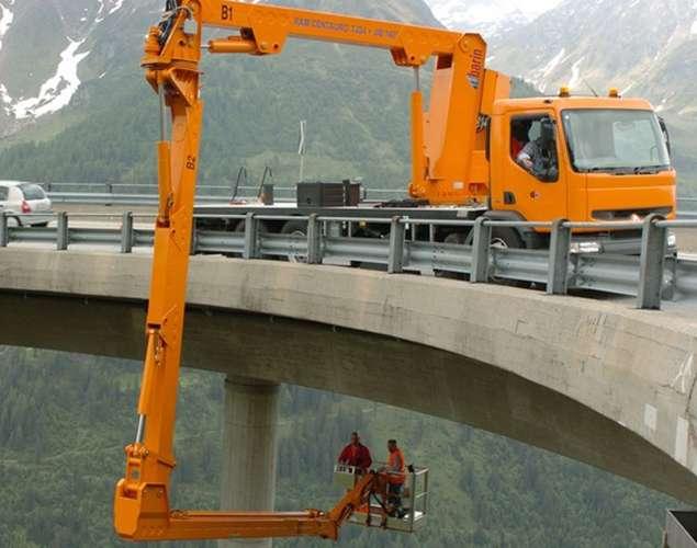 二手桥梁检测车/二手斗臂式桥梁检测车/二手臂架式桥梁检测车