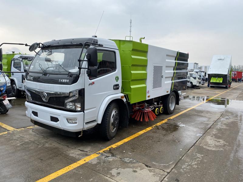 国六东风福瑞卡洗扫车客户自提