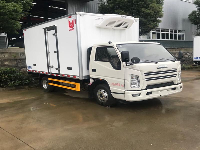 国六江铃顺达4.2米冷藏车 厂家直销