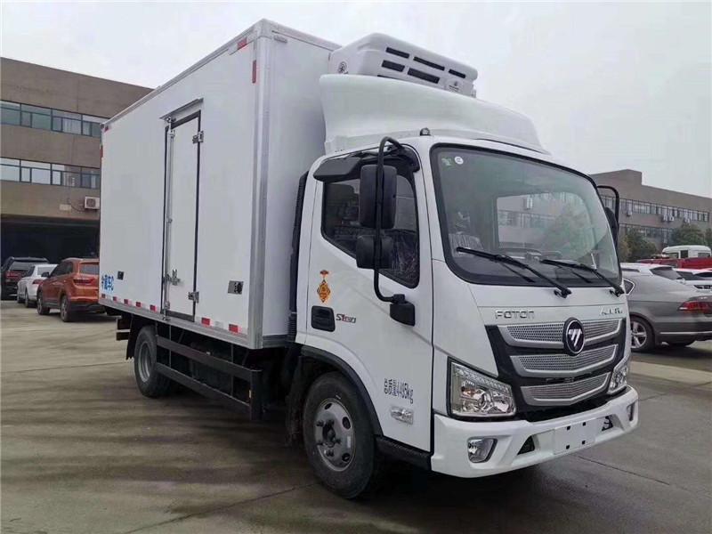 国六福田欧马可S1宽体冷藏车 厂家直销