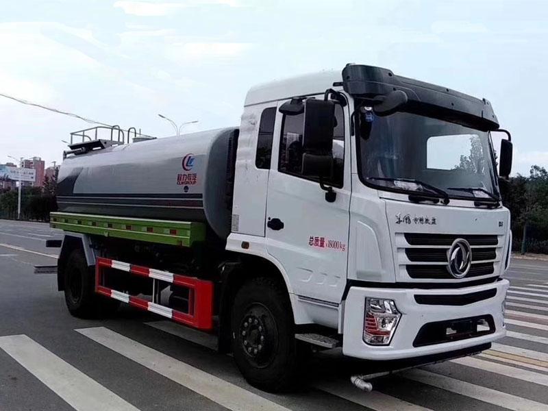 東風專底12噸灑水車