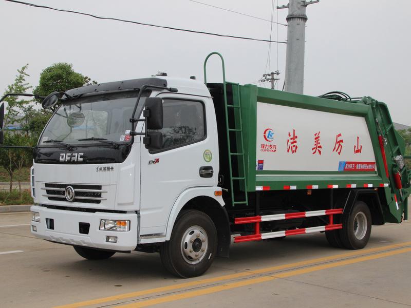 东风8方压缩垃圾车,最畅销的一款垃圾车