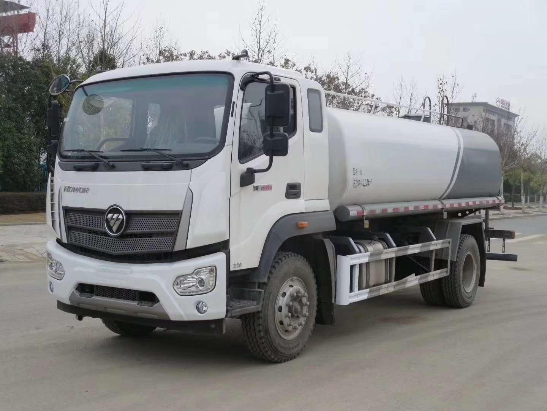 福田瑞沃15噸灑水車配置+價格圖片