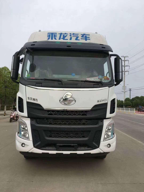 国六东风柳汽6X2饲料车图片