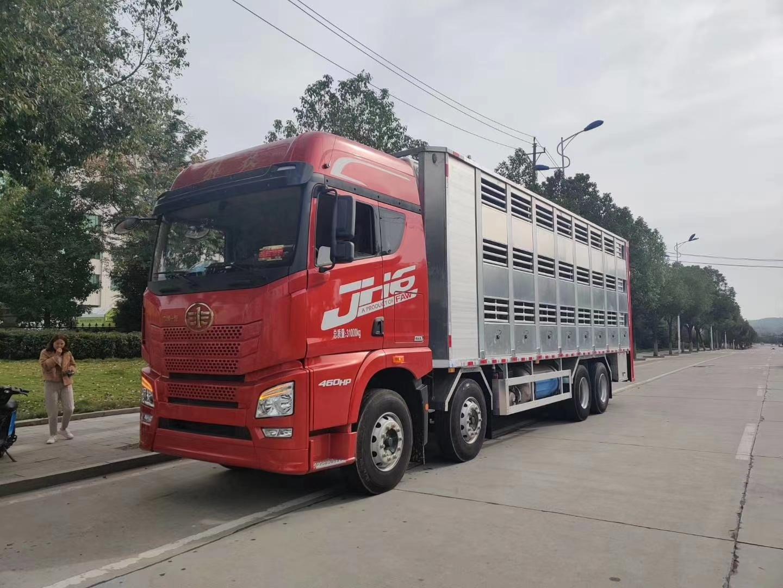 解放JH6全鋁合金恒溫畜禽運輸車圖片