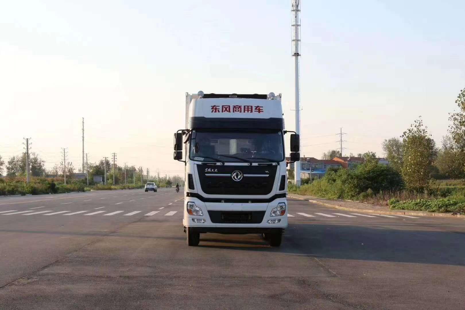 東風天龍前四后八畜禽運輸車廠家報價圖片
