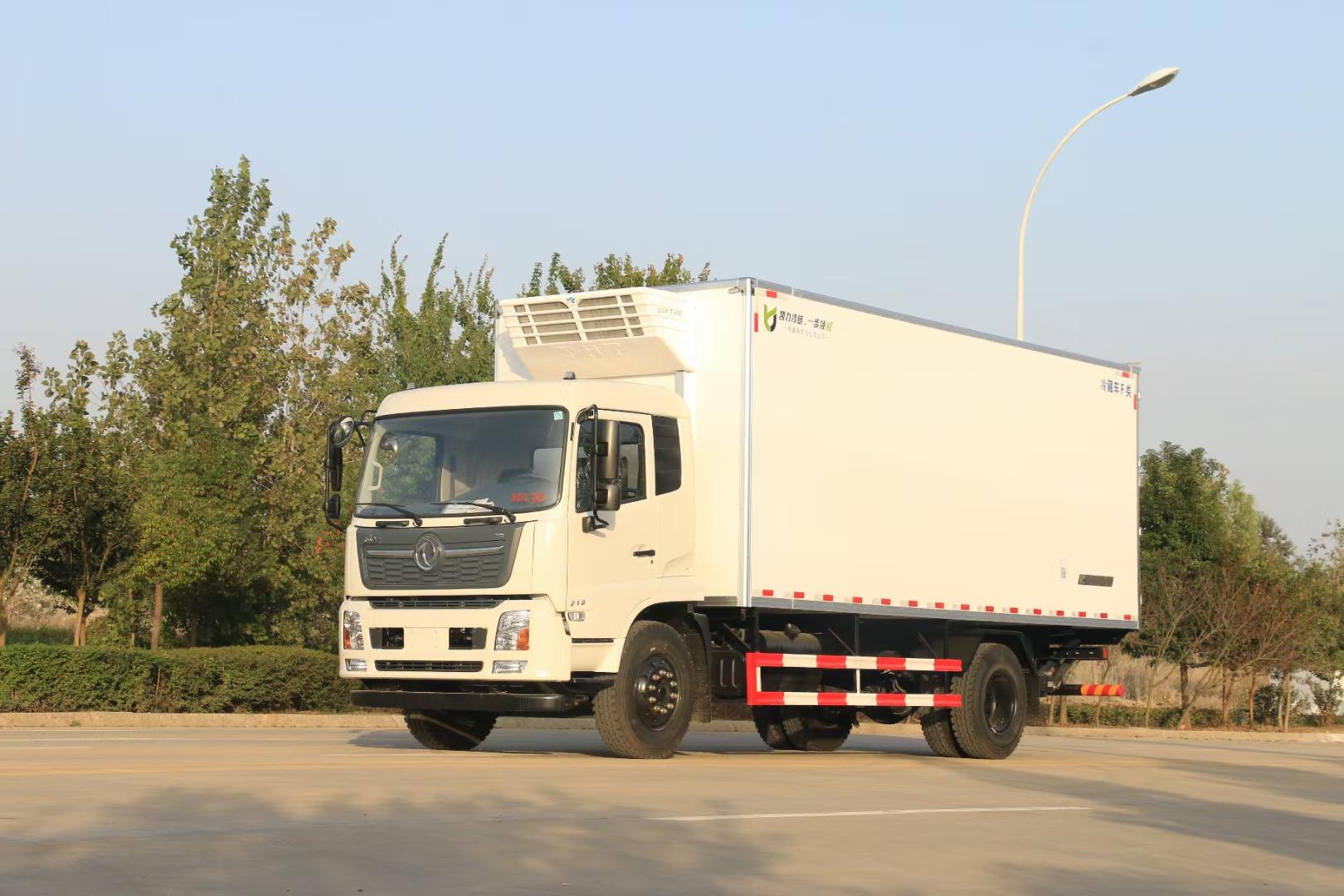 國東風天錦6米8冷藏車圖片