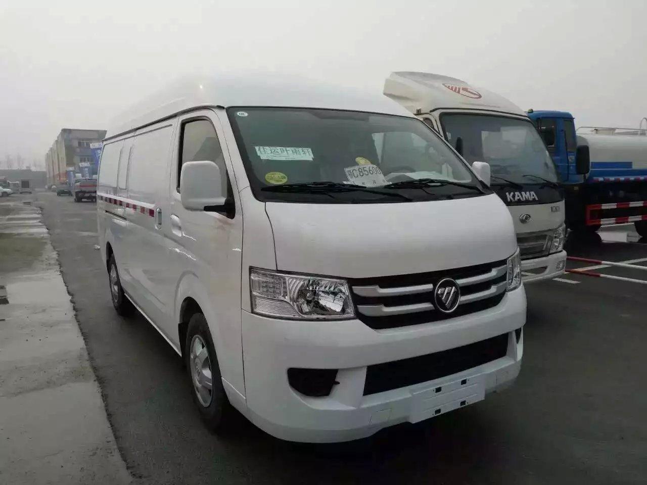 福田G7面包冷藏车11万提回家图片