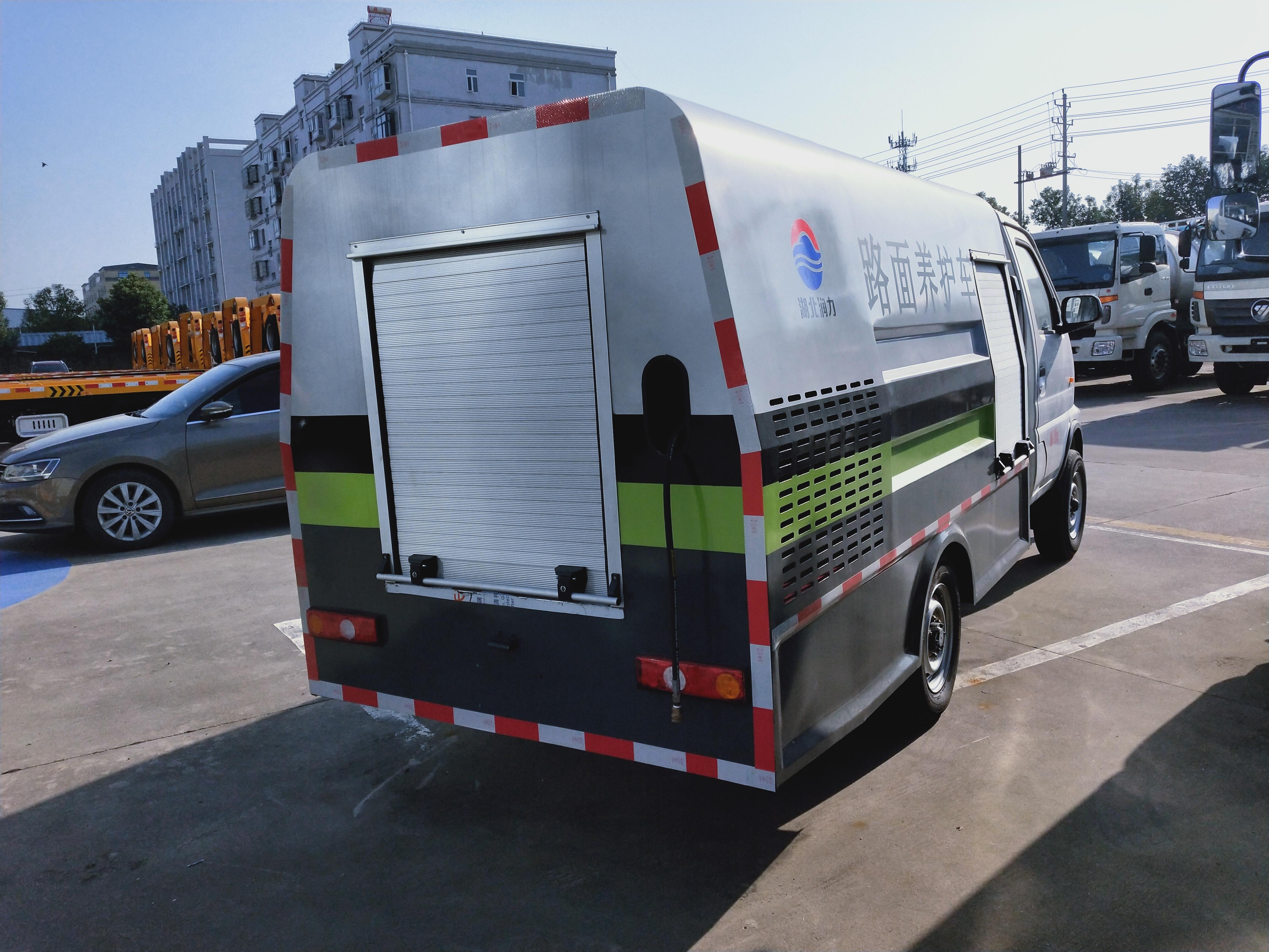 国六长安路面清洗车养护车价格配高压泵洗车功能图片
