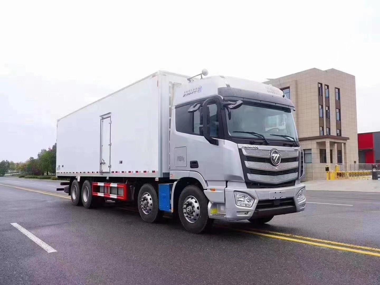 国六福田欧曼9.6米冷藏车