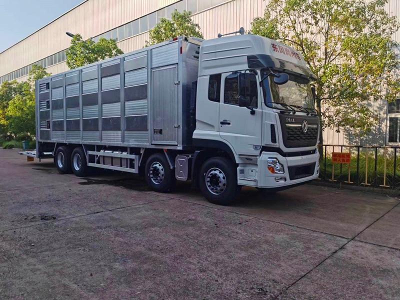 9米6铝合金恒温猪崽专用运输车