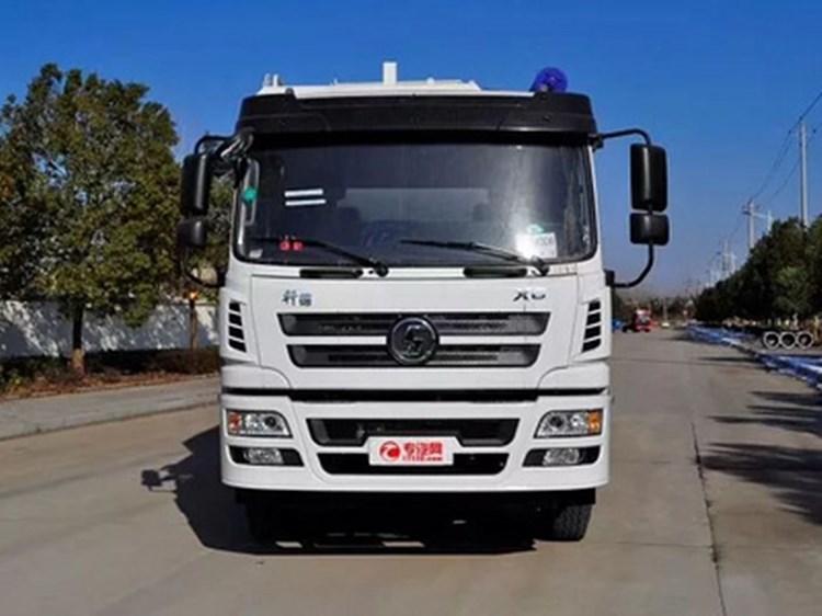 柳汽乘龙单桥28方(14吨)电动散装饲料运输车图片
