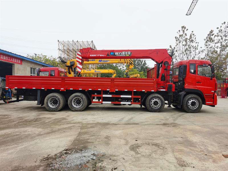 东风天龙14吨随车吊,程力威龙14吨随车吊