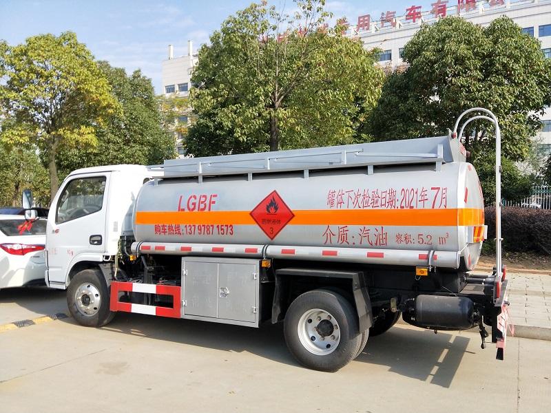 黄牌东风多利卡5吨加油车厂家走量批发包上户 视频视频
