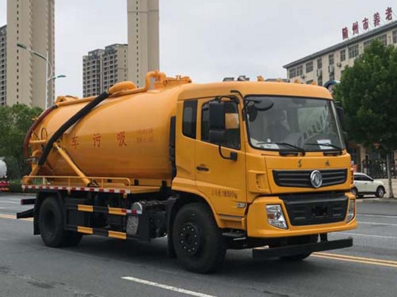 东风多利卡清洗吸污车