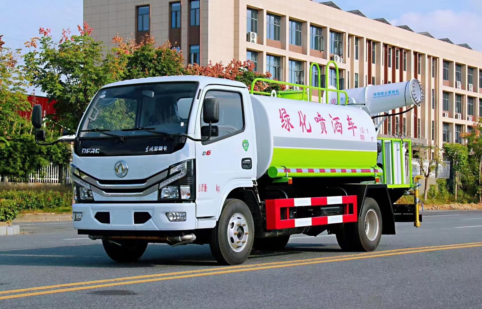 东风多利卡5方绿化喷洒车图片