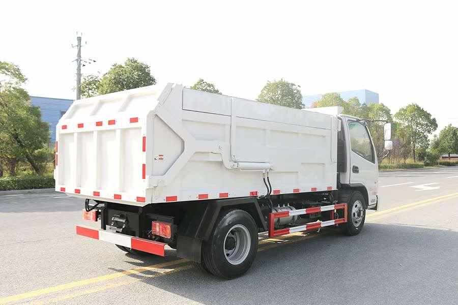 凯马国六压缩对接垃圾车图片