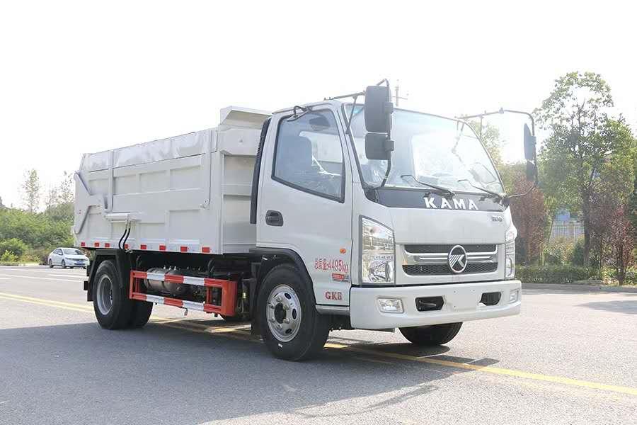 凱馬壓縮對接垃圾車  小型翼展垃圾車廠家直銷