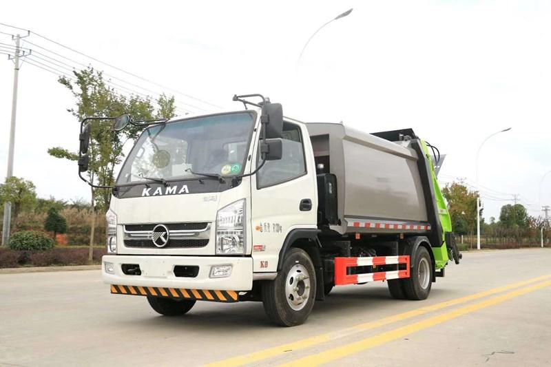 凱馬6方壓縮垃圾車  環衛車專業廠家直銷