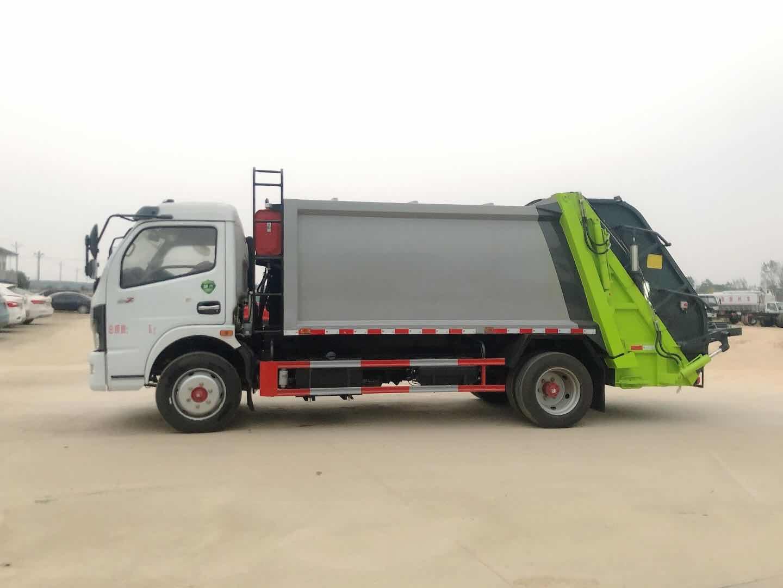 東風福瑞卡8方壓縮垃圾車視頻
