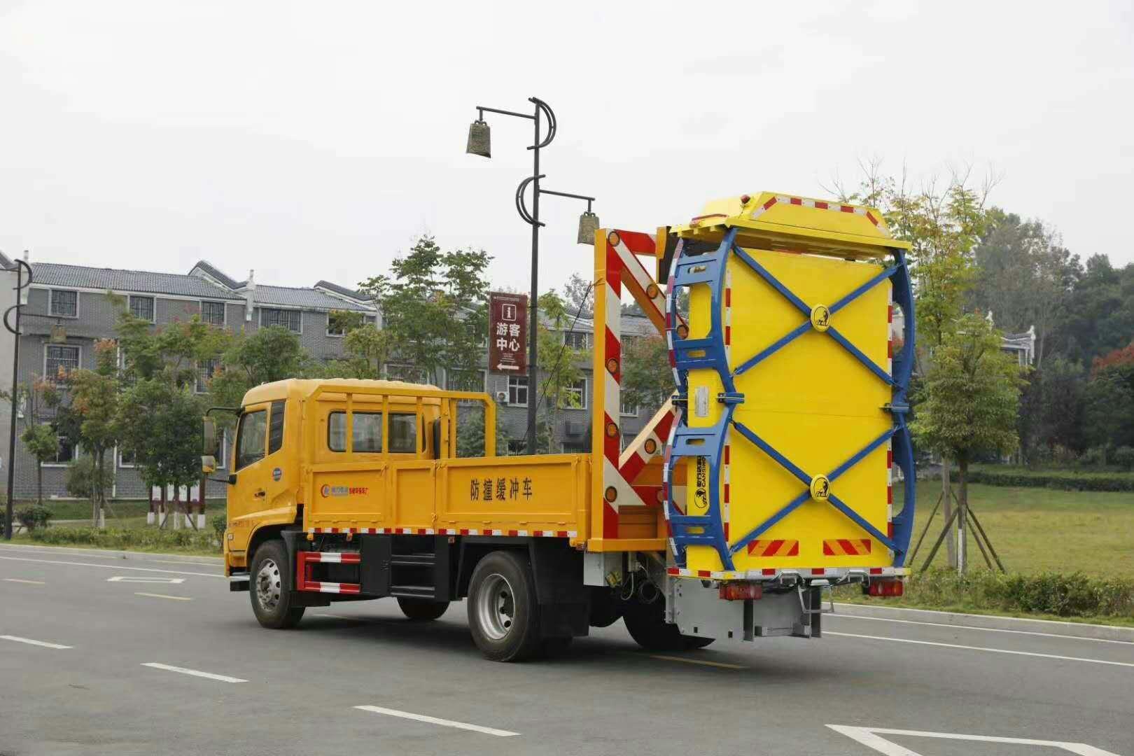 江苏高速路面施工专用防撞缓冲车,路政施工必备