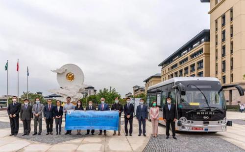 澳门首辆无人驾驶巴士落地!安凯助力澳门智慧城市建设