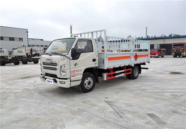 國六江鈴倉欄氣瓶車(4.15米)