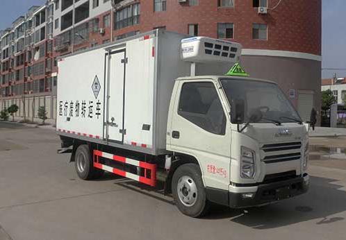 国六江铃医疗废物运输车