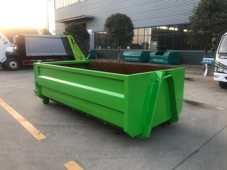 国六东风多利卡6方侧装挂桶压缩垃圾车图片