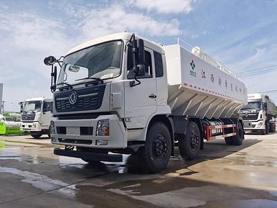 东风15吨散装饲料车图片