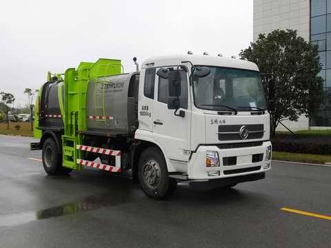 中联餐厨垃圾车(ZLJ5180TCADFE5)图片