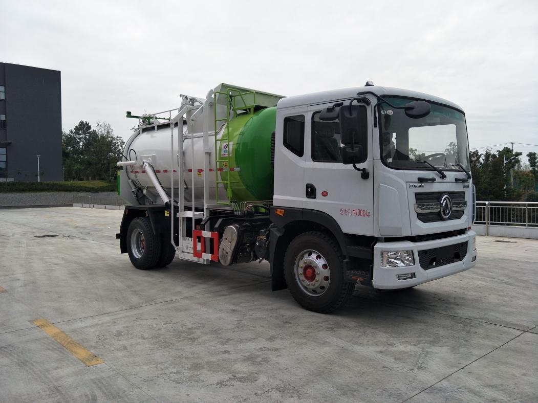 东风D9圆罐餐厨垃圾车(CLW5180TCA6)图片