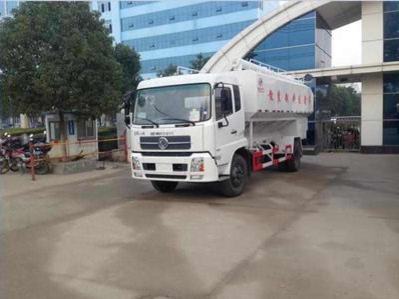 东风天锦20方10吨散装饲料车图片配置
