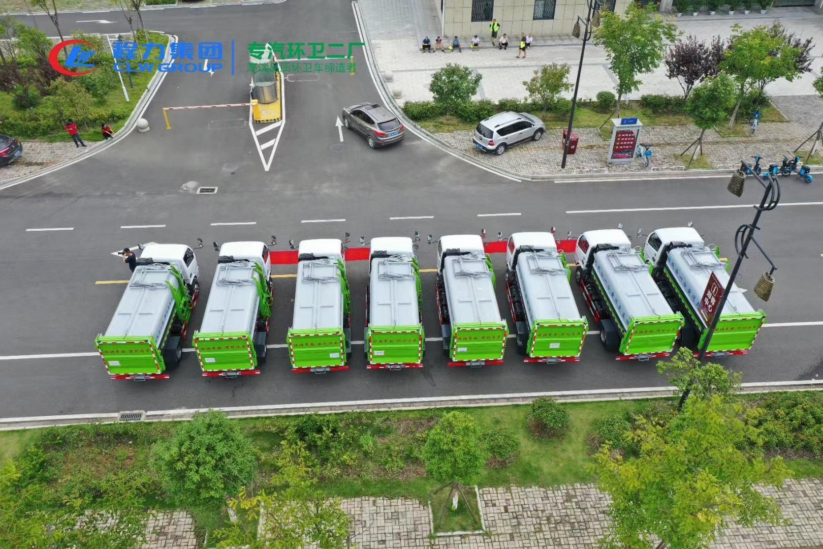 垃圾车厂家价格图片