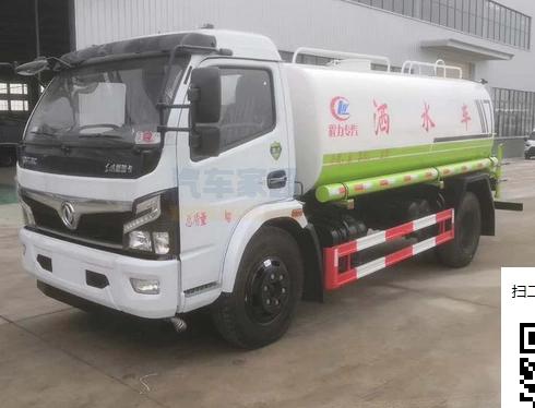 東風10噸灑水車圖片