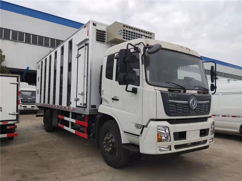 程力东风天锦大型7.4米运猪车给力实惠