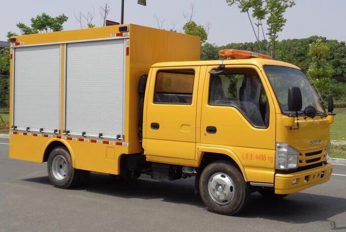 五十铃600P双排救险车