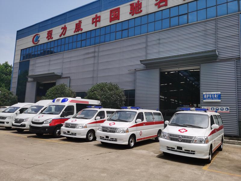 11月招标部再中一台福特救护车,监护型V362急救车