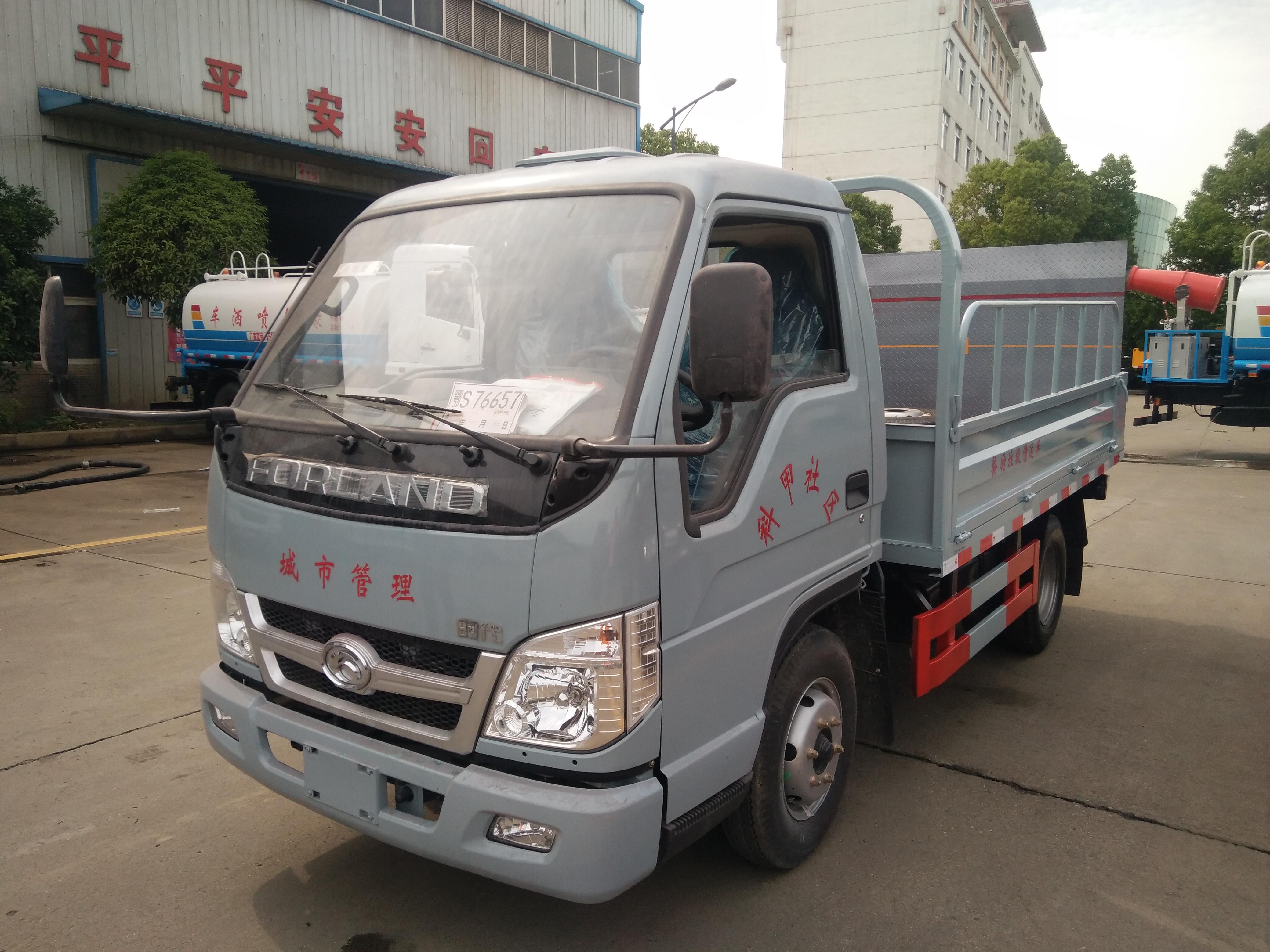 运输垃圾桶小货车价格厂家福田和东风桶装垃圾车图片图片