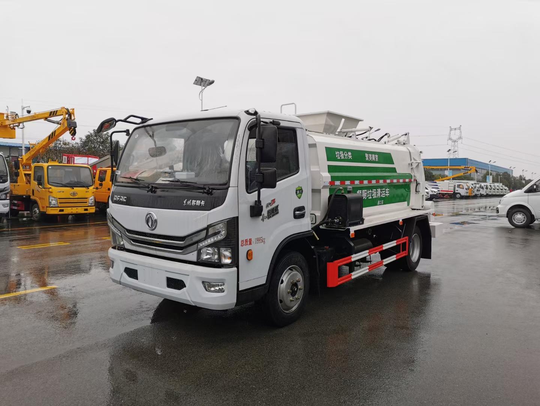 程力国六东风多利卡8方餐厨垃圾车图片