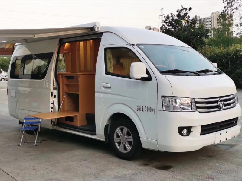 不到二十万的福田G9小型房车,多种布局可选-设施齐全适合一家三口!