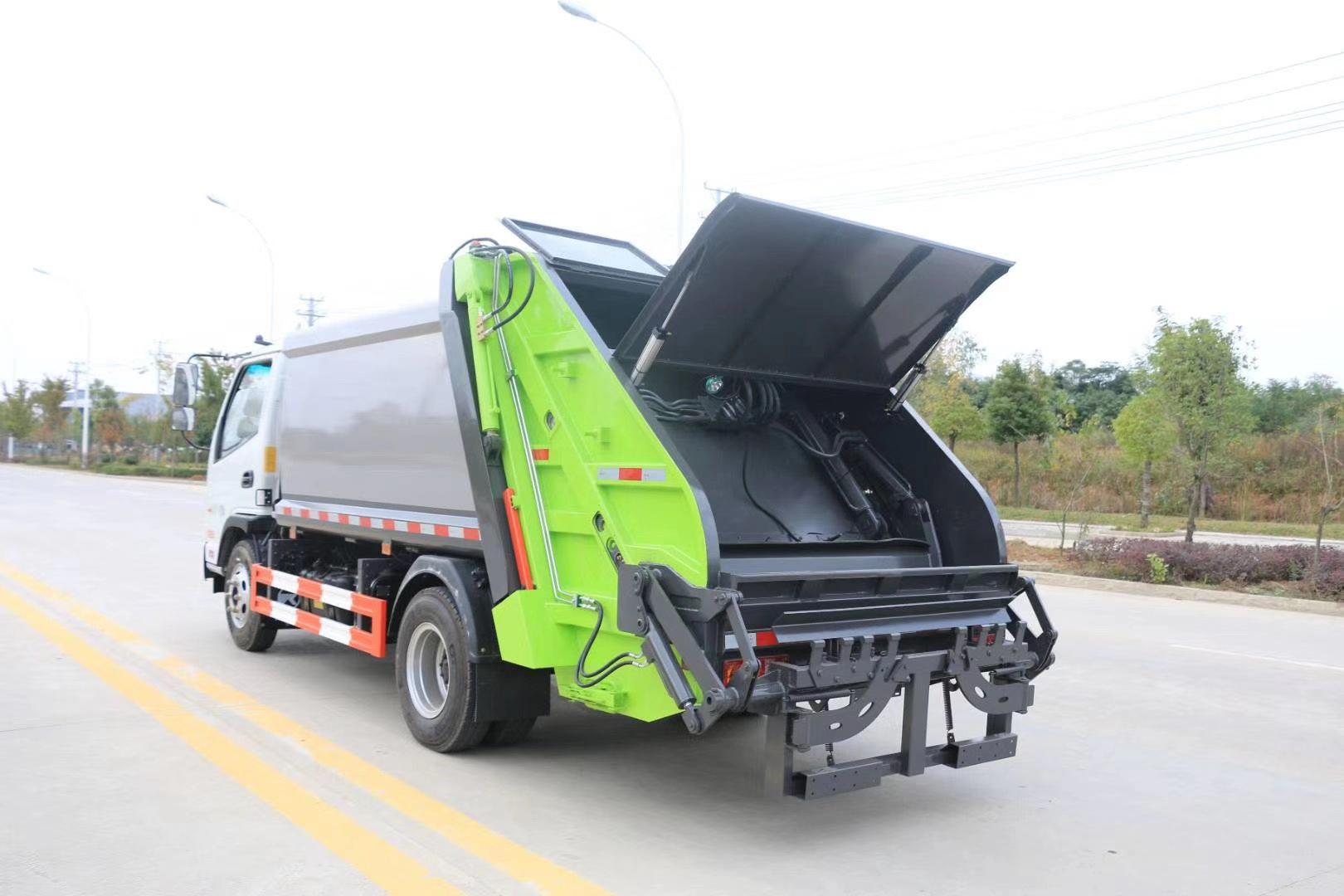 凯马国六6方压缩垃圾车图片