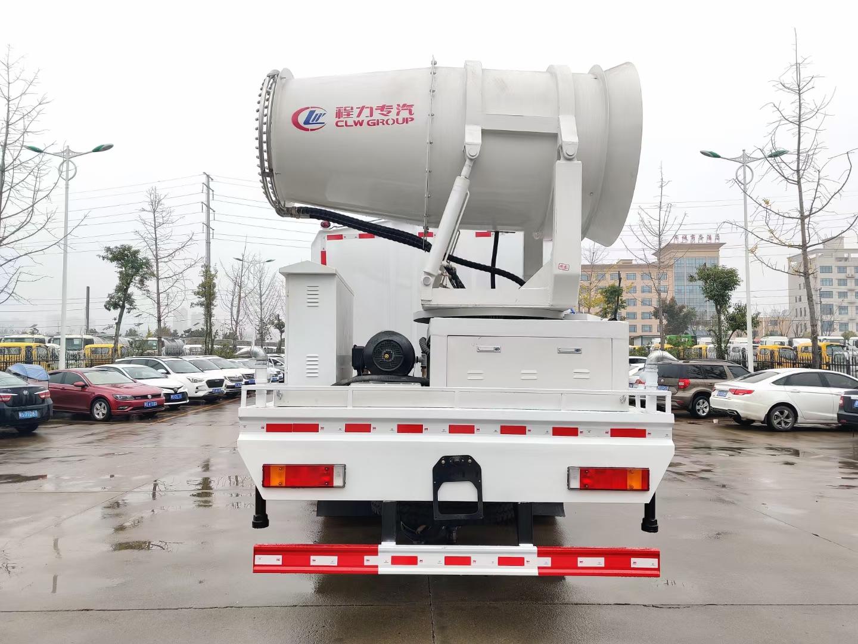 天龙120米抑尘车12吨洒水车路面养护车