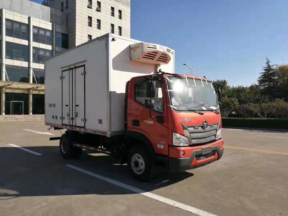 國六4.2米福田歐馬可冷藏車便宜出售圖片
